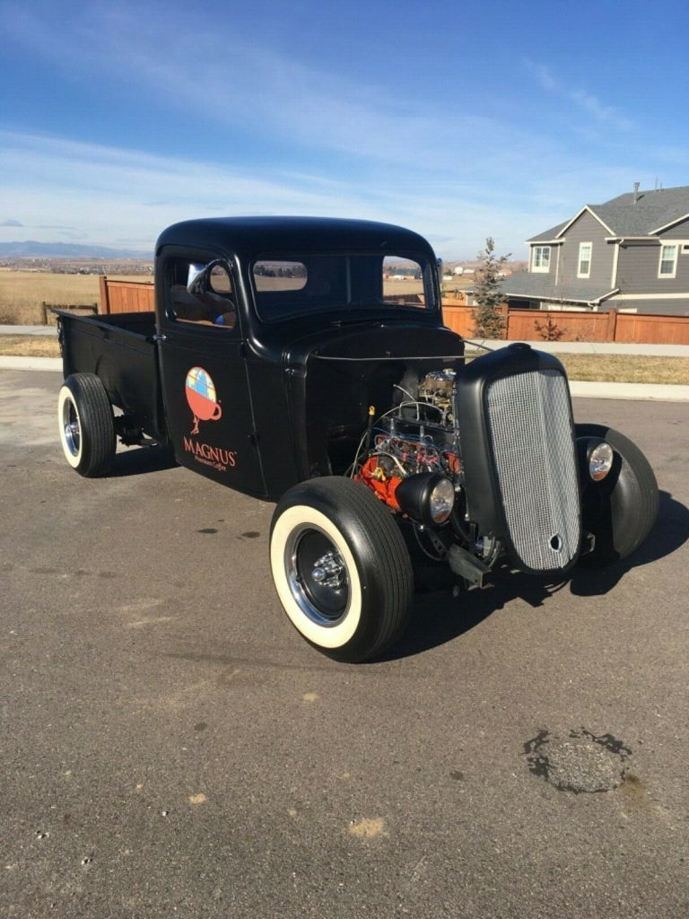 just finished 1935 Chevrolet Pickup custom