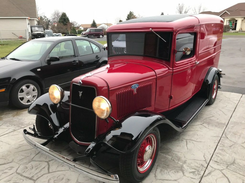 low miles 1934 Ford Panel Truck custom