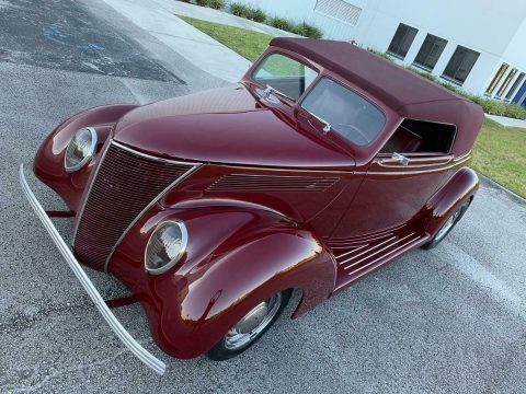 Restomod 1937 Ford Supercharged custom for sale