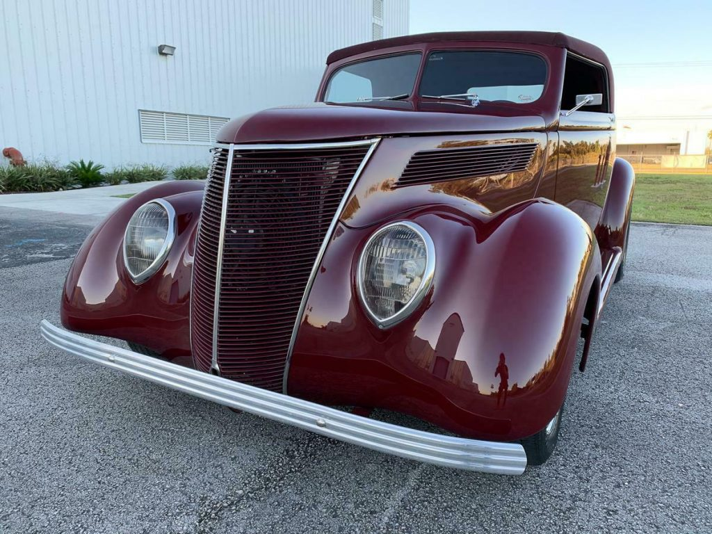 Restomod 1937 Ford Supercharged custom