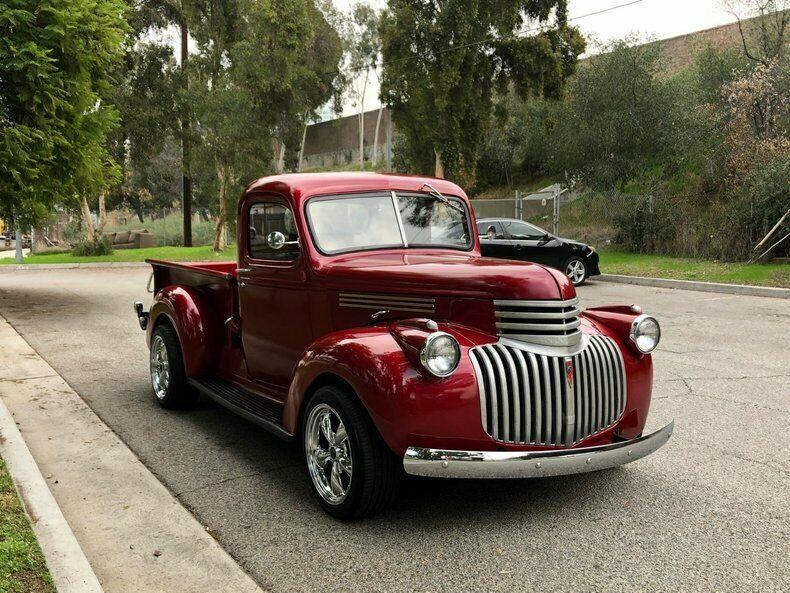 restored 1946 Chevrolet C/K Pickup 1500 custom