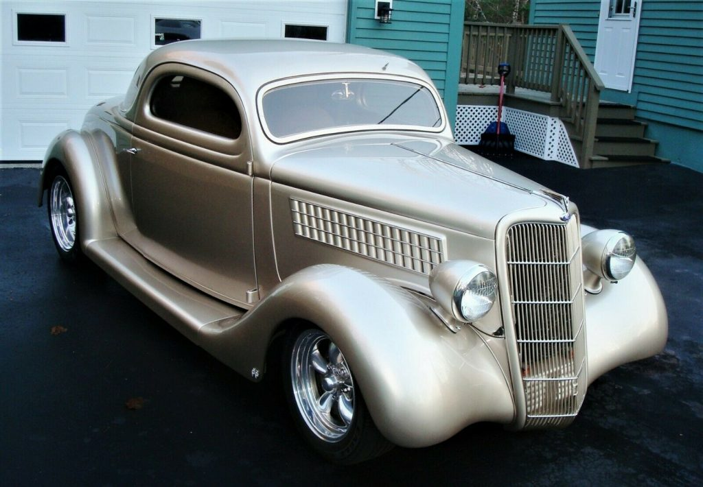 sharp 1935 Ford 3 Window Steel custom