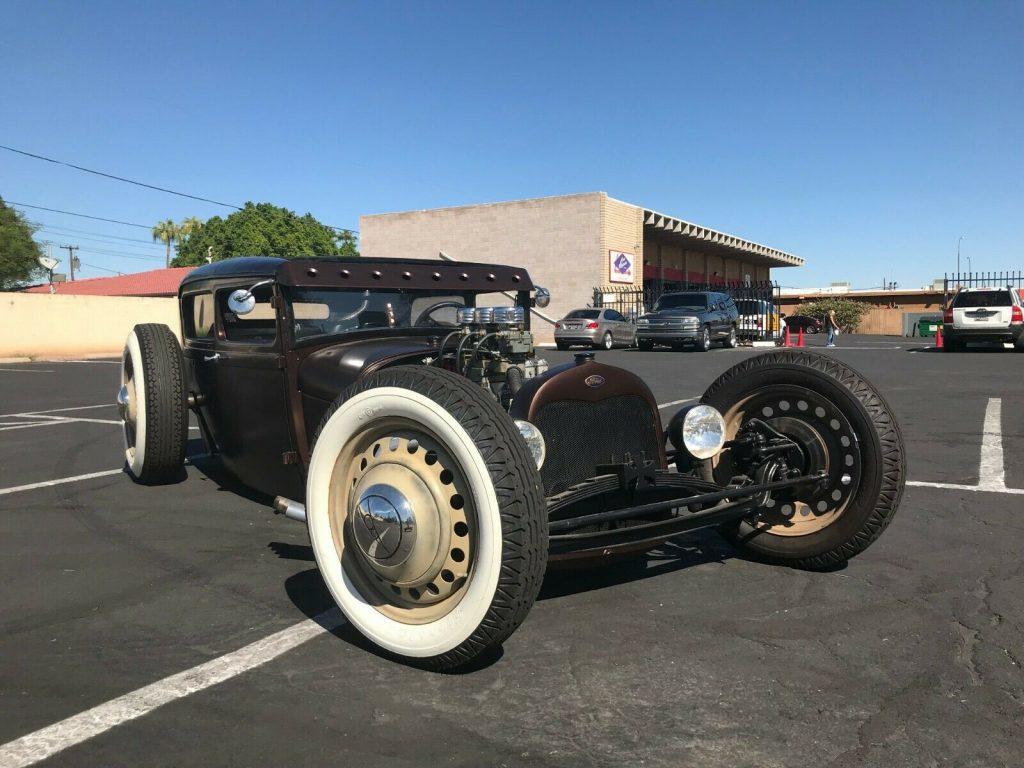 badass 1929 Ford Model A custom