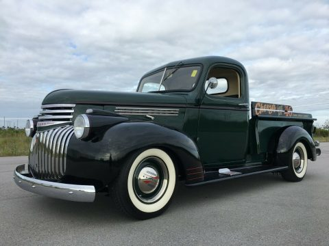 lowered 1946 Chevrolet 3100 AK Pickup custom for sale