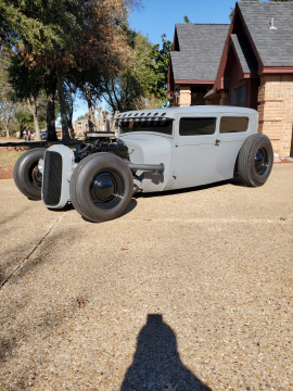 new crate engine 1928 Ford Model A TUDOR custom for sale