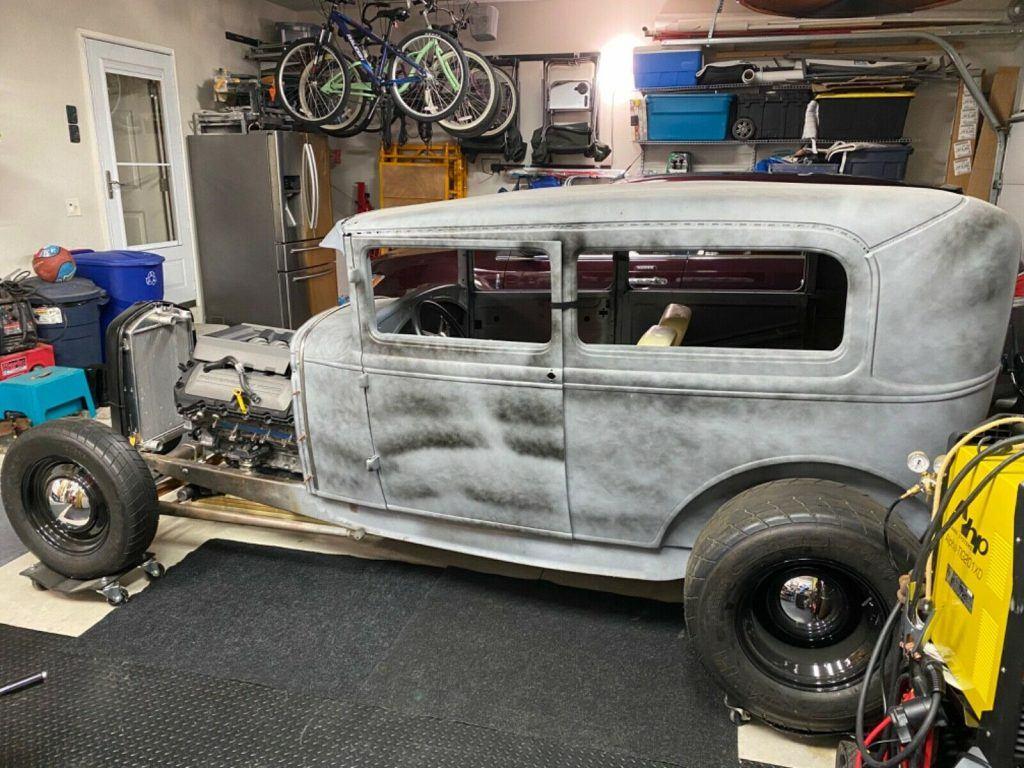 project 1930 Ford Model A Tudor custom
