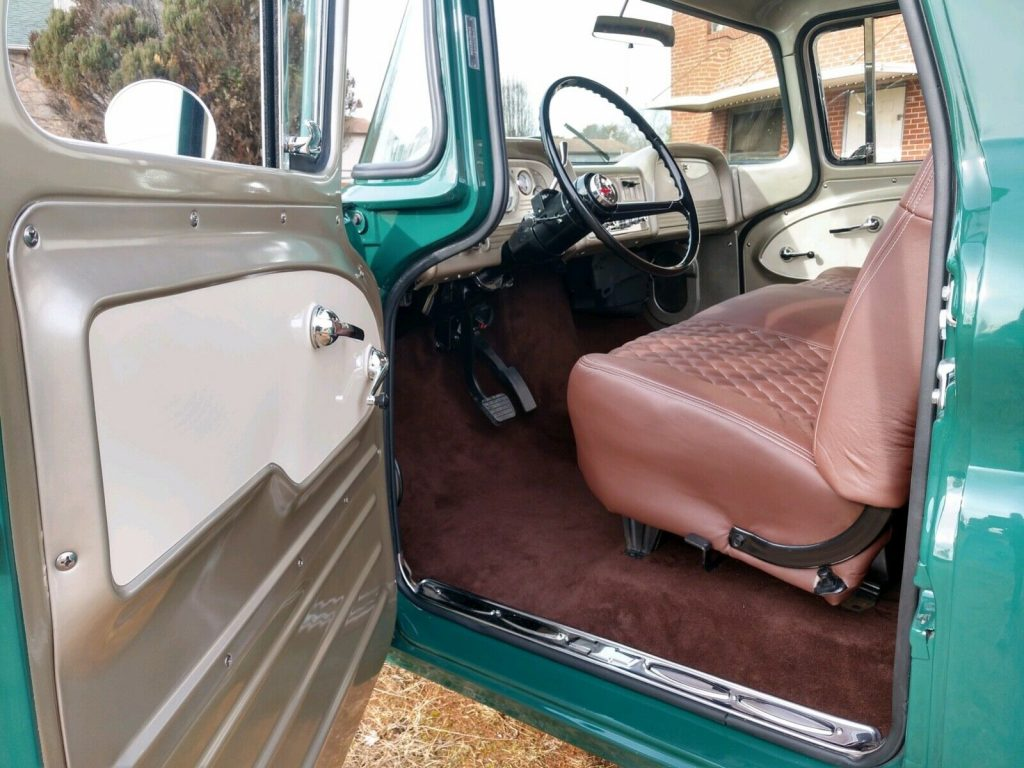 restored and modified 1963 Chevrolet C 10 FLEETSIDE pickup custom