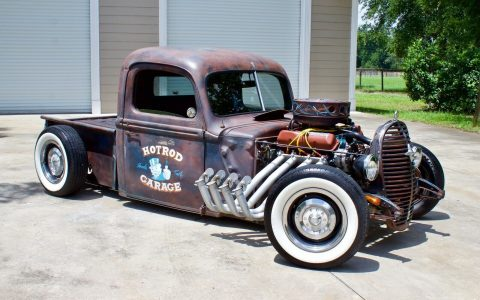 rusty patina paint 1940 Ford Pickup custom for sale