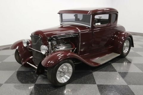 sharp 1930 Ford 5 Window Coupe custom for sale
