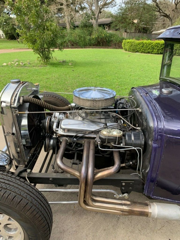 Vortec engine 1929 Ford Model A custom