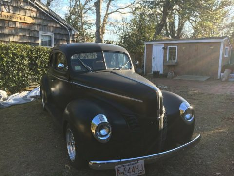 Excellent 1940 Ford Deluxe coupe custom for sale