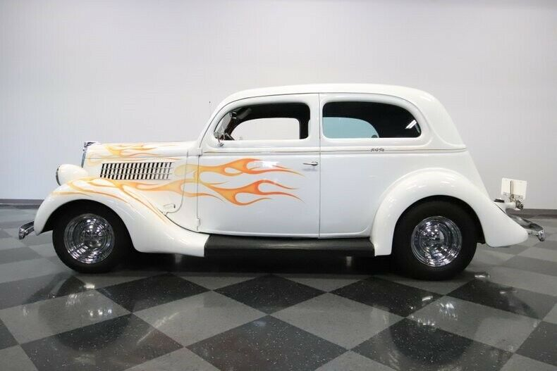 well restored 1935 Ford custom