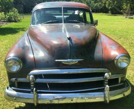 fuel injected 1950 Chevrolet Fleetline Deluxe custom for sale