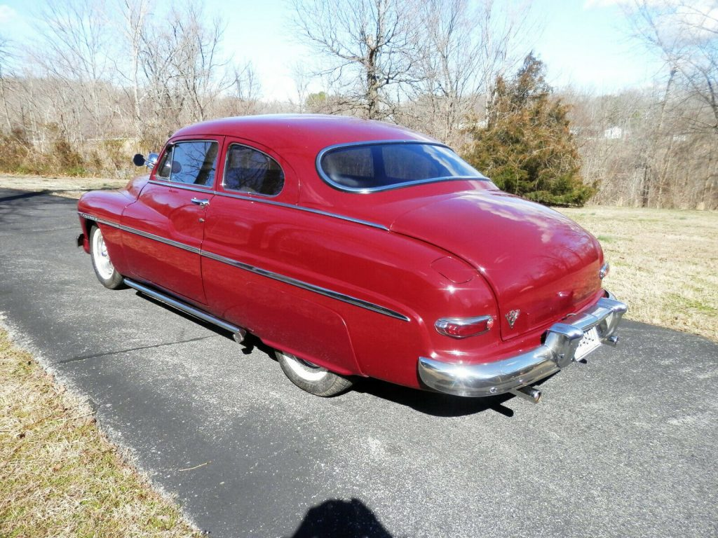 fully restored 1950 Mercury LED SLED custom