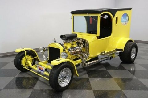 shiny 1923 Ford Model T C Cab custom for sale