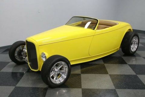fuel injected 1932 Ford Boydster Roadster custom for sale