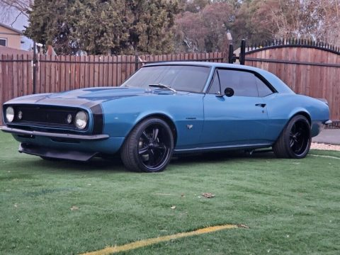 pro touring 1967 Chevrolet Camaro crate LS3 custom for sale