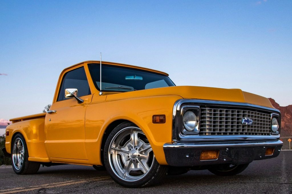 restomod 1971 Chevrolet C 10 custom