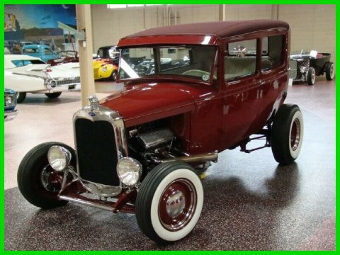 shiny 1930 Ford Model A HIGHBOY custom for sale