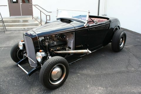 50s style build 1932 Ford Roadster custom for sale