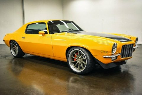 low miles 1970 Chevrolet Camaro LS ProTouring custom for sale