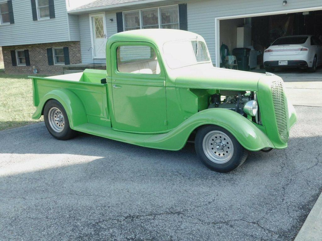 no issues 1937 Ford Pickup custom