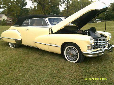 Restomod 1947 Cadillac Series 62 Convertible custom for sale