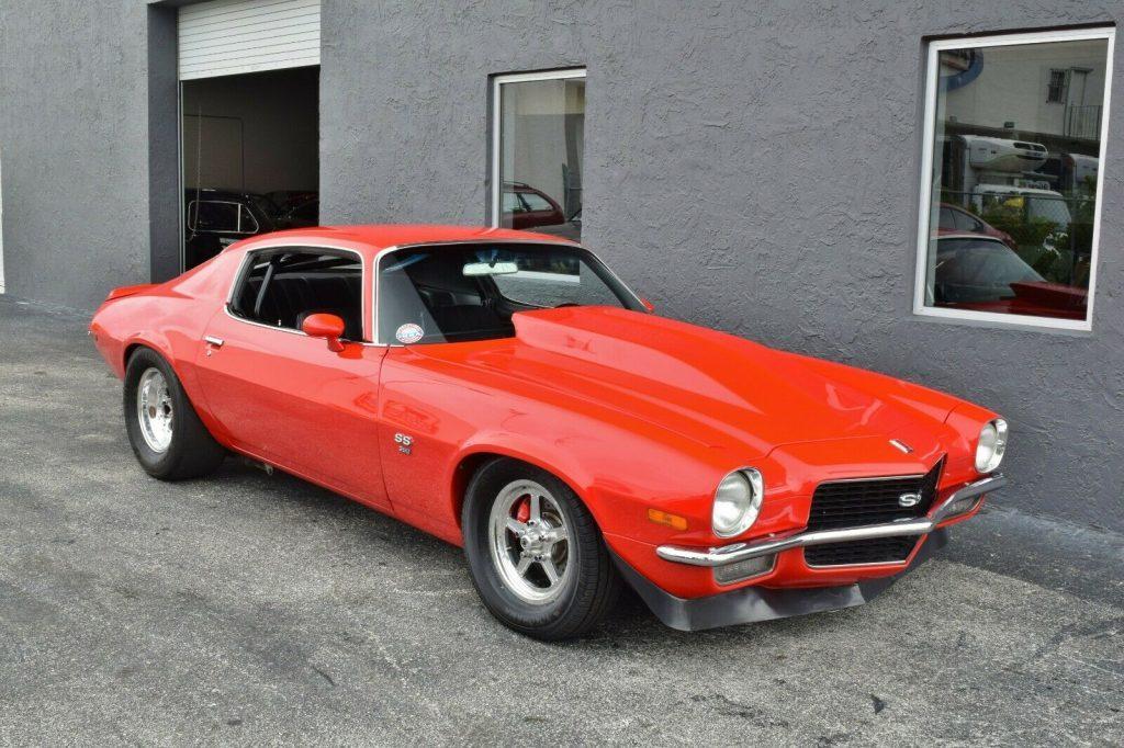 rare 1971 Chevrolet Camaro Super Sport custom