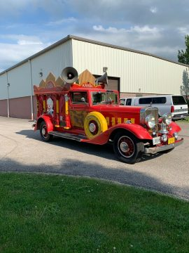 rare and unique 1934 Sayers and Scoville Olympian Hearse custom for sale