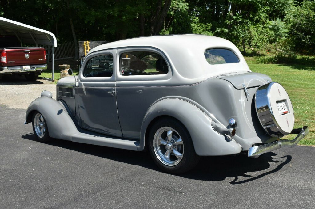 rebuilt engine 1936 Ford Deluxe custom