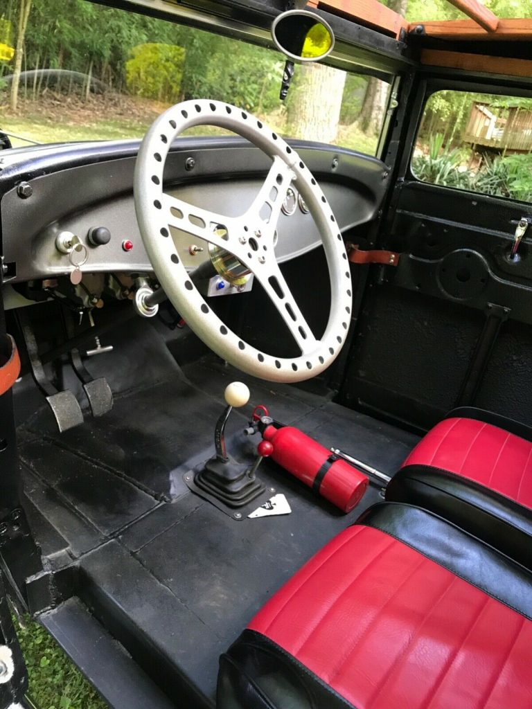 restored 1931 Ford Model A custom